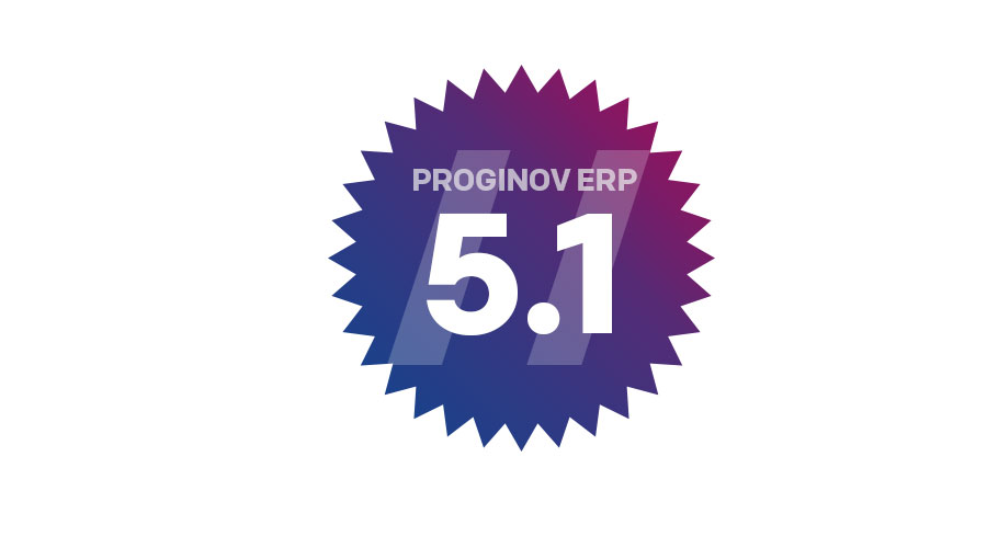 Proginov ERP Version 5.1