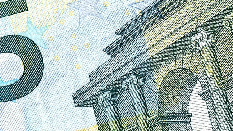 Détails de billet d'Euro