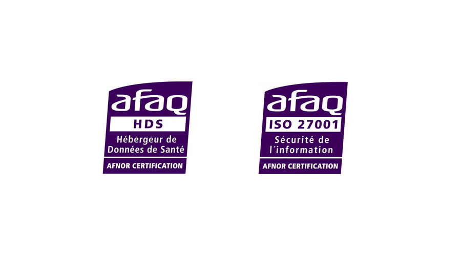 Certification HDS et ISO 207001