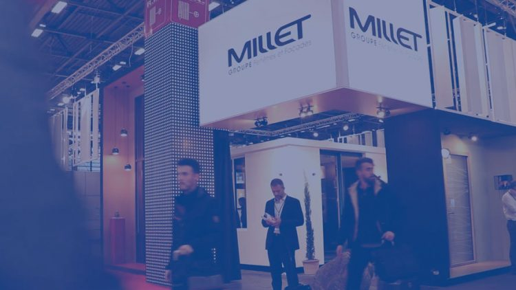 Groupe Millet au salon Batimat