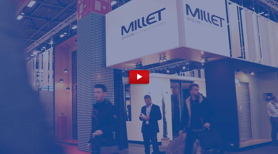 Vidéo du Groupe Millet au salon Batimat