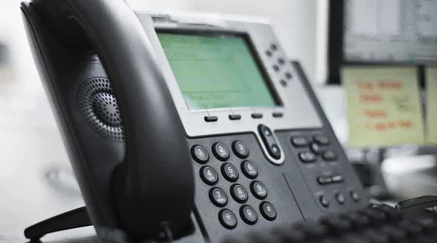 Office IP Phone with Screen